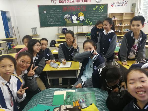 南昌大学附属中学版画研习社成立