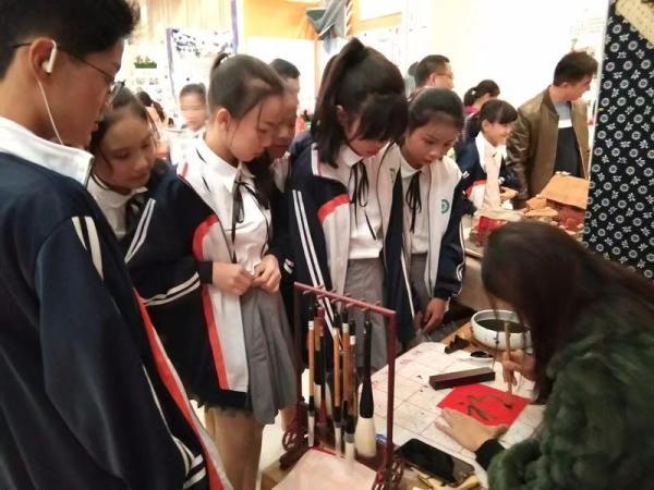 我校书法工作坊成功参加江西省第